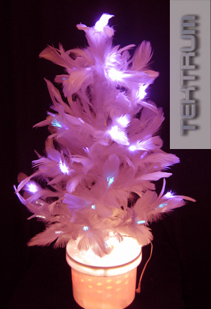 Tektrum Products Page - Pink Feather Christmas Tree